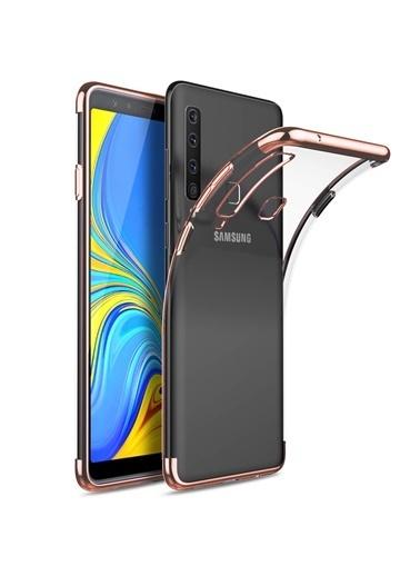 Microsonic Samsung Galaxy A9 2018 Kılıf Skyfall Transparent Clear  Renkli